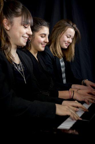 Séance «Portraits» à l'école de musique de Charolles