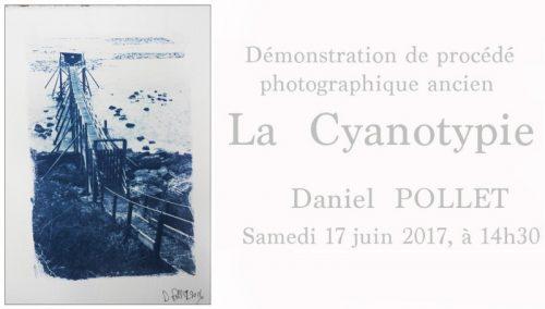Juin 2017 Atelier Cyanotype