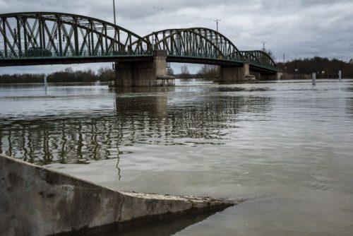 La Saône version inondation