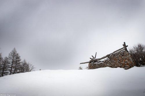Les Ecrins, Hautes Alpes, L'hiver